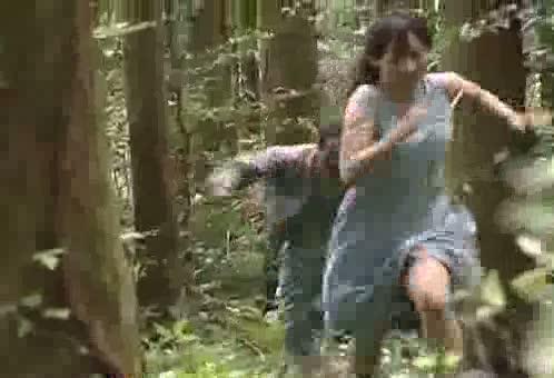 【ヘンリー塚本】美女が静かな山中に拉致られ、途中必死で逃げるも結局捕まってしまい汚いオッサンにレイプされる